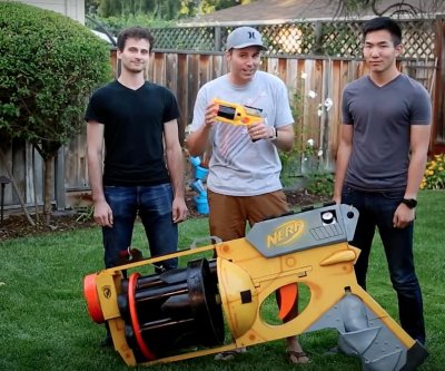 California mechanical engineer builds world's largest Nerf gun