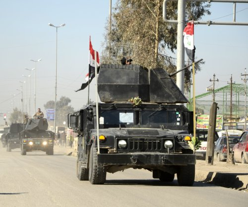 Iraqi forces inside west Mosul proper after taking military base