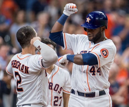 Bregman, Alvarez hit back-to-back homers in Astros' 99th win