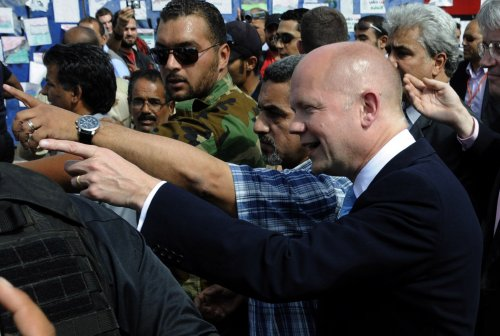 London: Gadhafi must step down