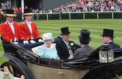 Queen Elizabeth II's baby pics on display