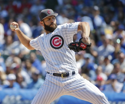 Chicago Cubs' Jake Arrieta wins 11th to tie for most in majors