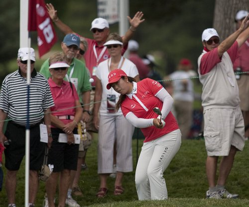 LPGA: Shanshan Feng holds early lead at U.S. Women's Open