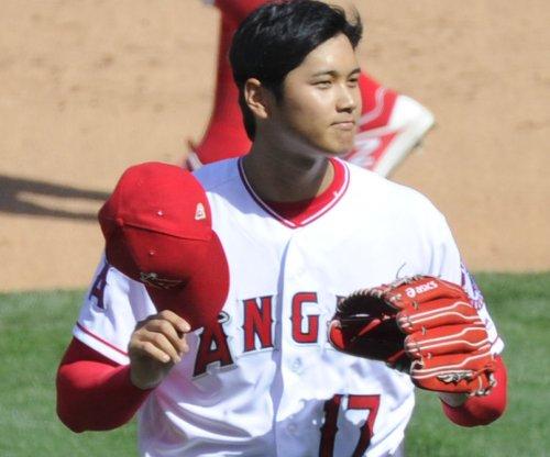 Angels' Ohtani takes his show to Kansas City