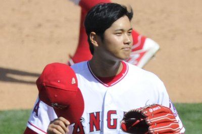 Angels' Ohtani takes his show to Kansas City