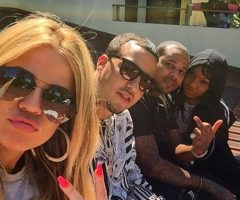 Khloe Kardashian, French Montana cozy up in Miami