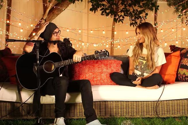 Ashley Tisdale covers Paramore\'s \'Still Into You\' with husband ...