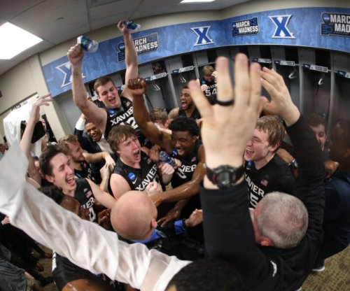 Xavier is carrying around something very odd in its locker room during March Madness