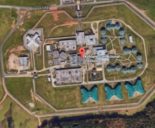 Two charged in death of four inmates at South Carolina prison
