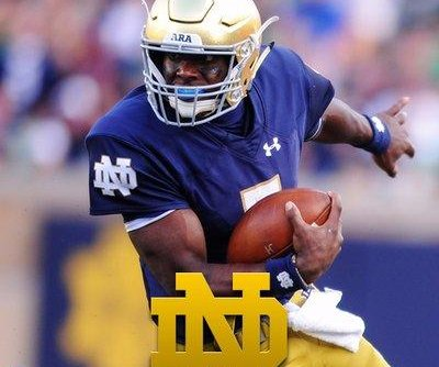 No. 9 Notre Dame stays hot, blasts No. 14 N.C. State