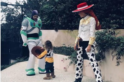 Jessica Biel, Celine Dion, Blac Chyna and others share family Halloween photos