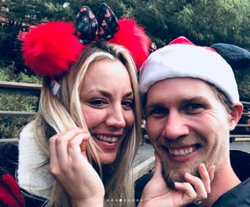 Kaley Cuoco, Karl Cook enjoy 'magic' trip to Disneyland