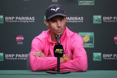 Knee injury forces Rafael Nadal to withdrawal from Indian Wells semifinal