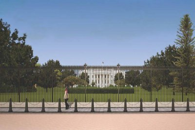 Crews to shut down Pennsylvania Ave. to build taller White House fence
