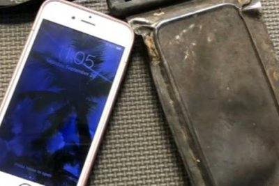 Lost iPhone still works after 15 months at bottom of river