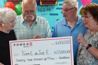 Man makes good on 1992 handshake, splits $22M jackpot with friend