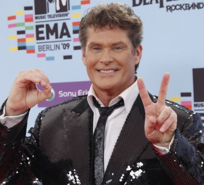 David Hasselhoff amused by ad thefts