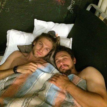 James Franco posts bed selfie with 'Pretty Little Liars' star
