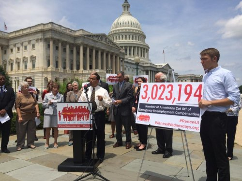 House Dems gather for 'Witness Wednesdays' to push for unemployment extension