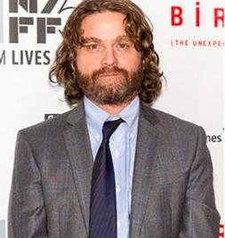 Zach Galifianakis shows off dramatic weight loss at 'Birdman' premiere