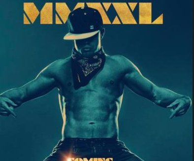 "Channing Tatum unveils first ""Magic Mike XXL"" poster"