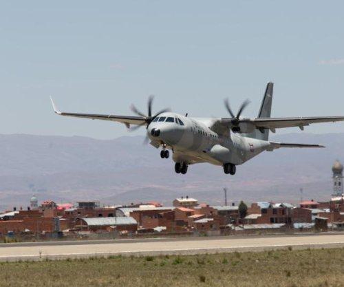 Airbus DS demos C297W transport in Bolivia