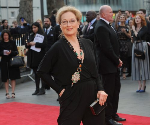 Streep dons orange face, saggy belly in Trump portrayal