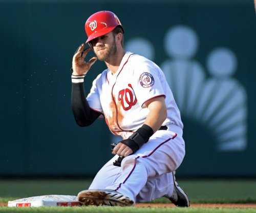 Washington Nationals OF Bryce Harper injured vs. Pittsburgh Pirates