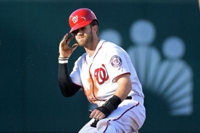 Washington Nationals OF Bryce Harper injured vs. Pittsburgh Pirates