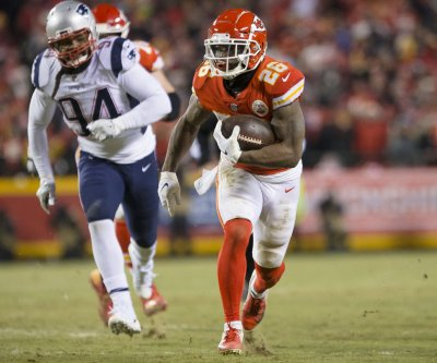 Kansas City Chiefs' Damien Williams ruled out vs. New England Patriots