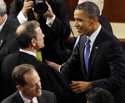Parties mix on State of the Union night