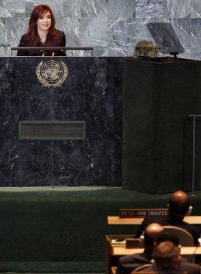 Argentina pressing for role in Falklands