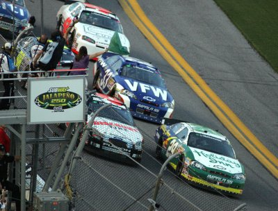 Bowyer wins Nationwide race