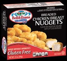 31,000 pounds of gluten-free chicken products recalled