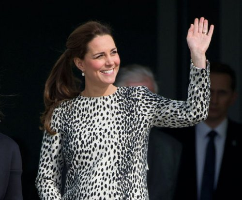 Kate Middleton shows off baby bump during Margate visit