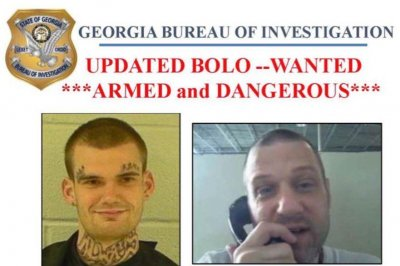 Escaped Georgia inmates captured in Tennessee