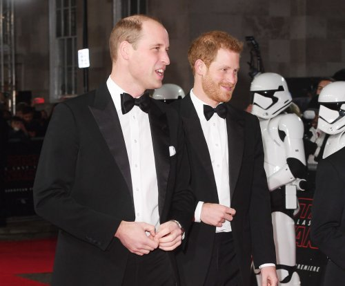 Prince William, Prince Harry attend 'Star Wars: The Last Jedi' premiere
