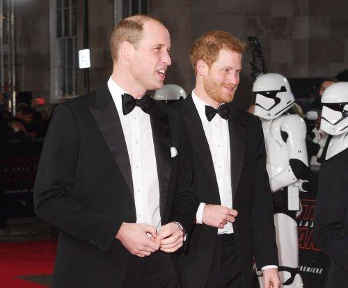 Prince William, Prince Harry attend 'Star Wars: The Last Jedi' premiere
