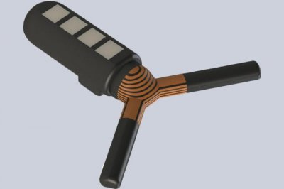 Ingestible robot can be monitored from outside body by Bluetooth