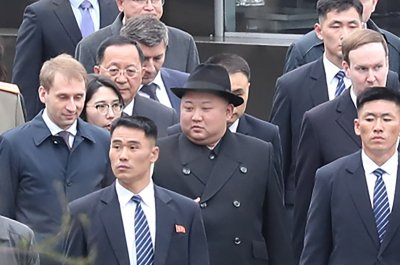 North Korean leader Kim arrives in Vladivostok for summit with Putin