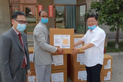 India delivers $1M in medical assistance to North Korea
