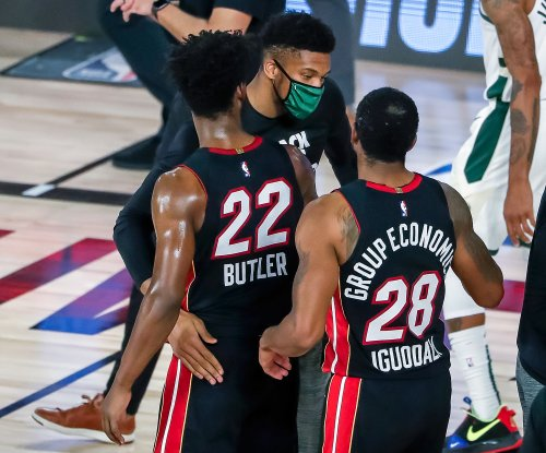Heat edge Giannis-less Bucks to reach Eastern Conference finals