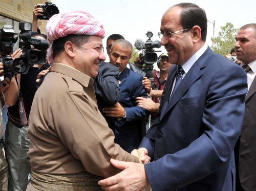 Iraqi, Kurdish leaders meet in Baghdad