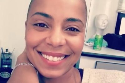 Sanaa Lathan shaves head for 'Nappily Ever After' role