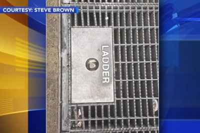 Utility worker rescues wedding ring from sidewalk grate