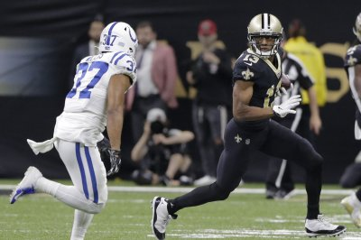 Saints' Michael Thomas passes Marvin Harrison for NFL catch record