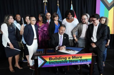 New York Gov. Andrew Cuomo signs Gender Recognition Act into law