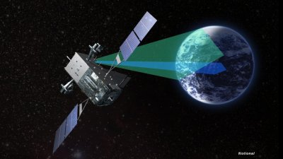 Lockheed, Northrop deliver satellite payload