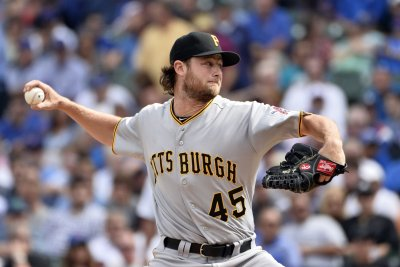 Pittsburg Pirates' Cole excited to face red-hot Arrieta in NL wild card