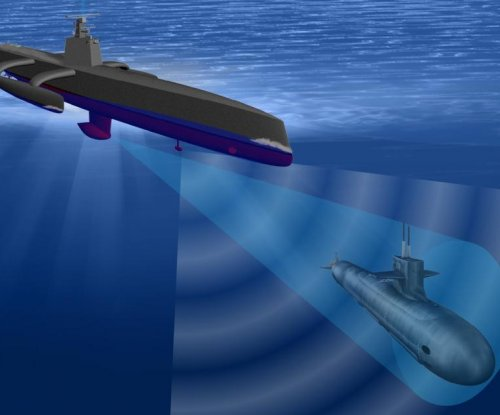 Raytheon supplies sonar for DARPA's anti-submarine warfare program